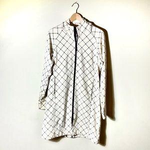 Lululemon Apres Diamond Print Fleece Lined Jacket